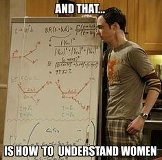 Sheldon Cooper begrijptvrouwen